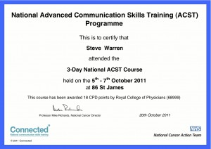 Cancer Communication Training